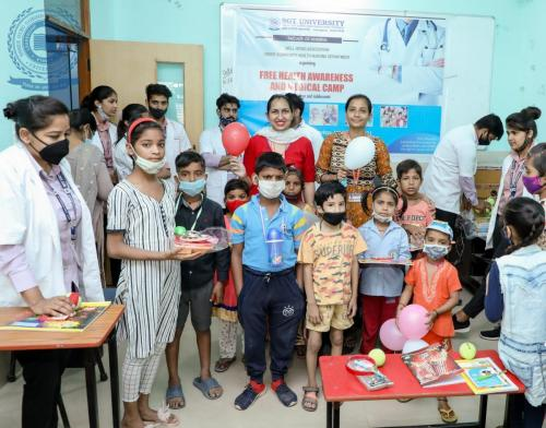 Free Awareness and Medical Camp For NGO-DREAMGIRL FOUNDATION AS UPHAR INITIATIVE
